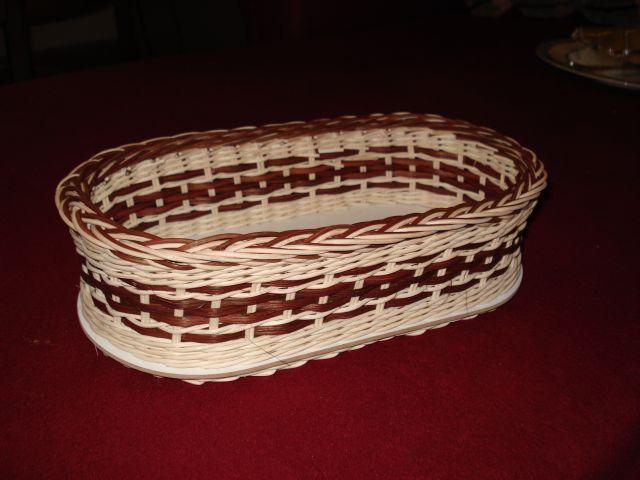 košík na chlieb - výsledok kurzu u Katky