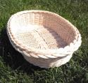 Kurz pletenia košíčkov s Ribišškou - ošatka oválna