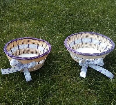 Pedigové košíčky od Ribiššky na svadobné pierka