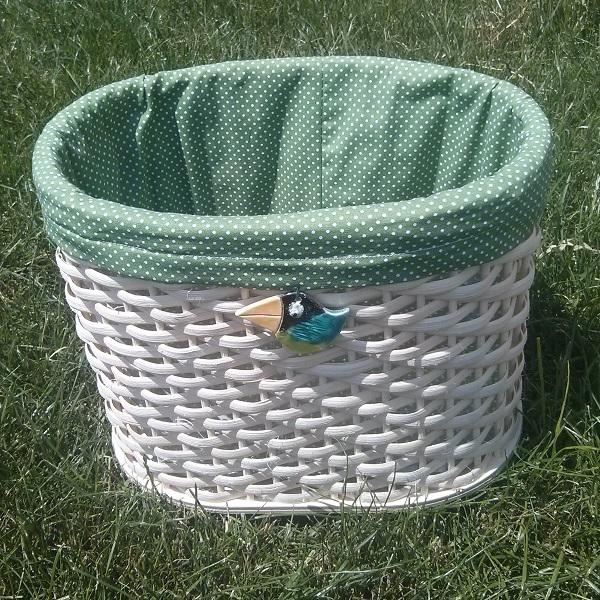 Pedigové košíčky od Ribiššky - podložkový košík