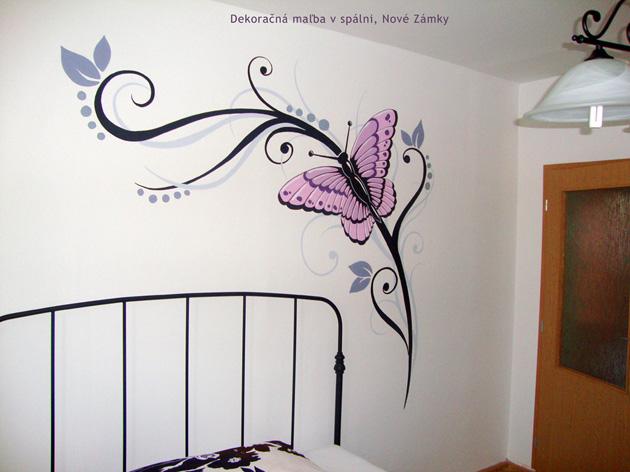 florálne vzory na steny do izieb