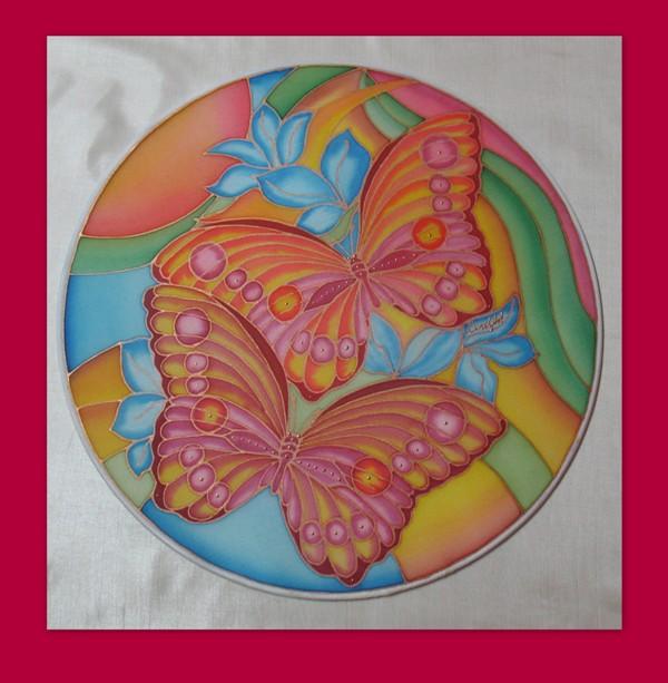 Mandala  Motýle - moja srdcovka :-)
