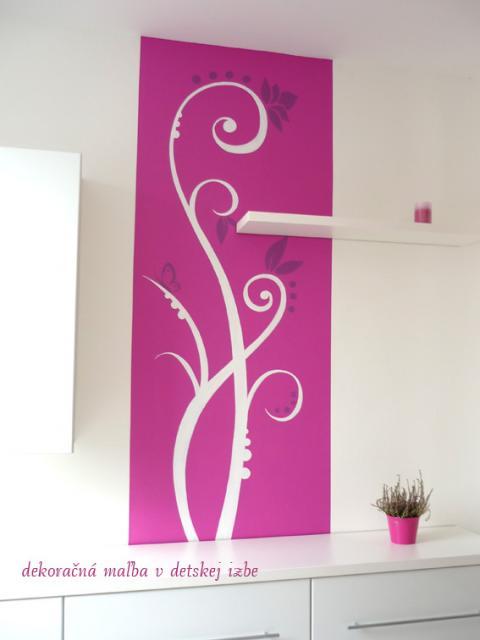 dekoračná malba v detskej izbe