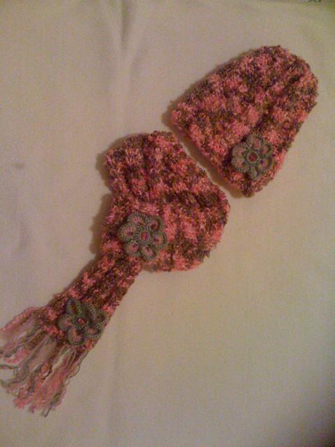 Pletená súpravička